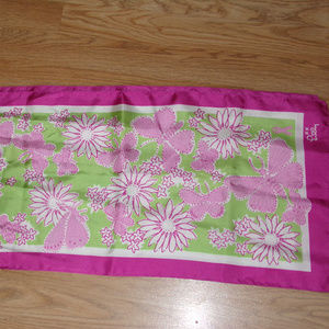 LILLY PULITZER Breast Cancer Scarf FORD 2004